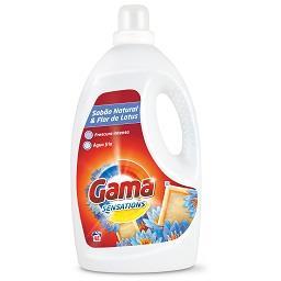 Detergente líquido máquina roupa sabão natural