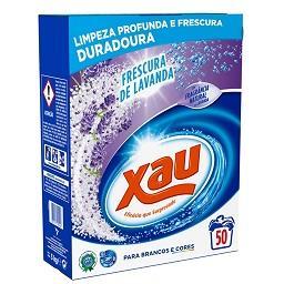 Detergente em pó máquina roupa lavanda