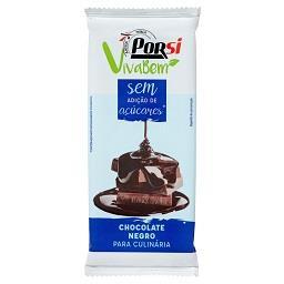 Tablete de chocolate de culinária - sem açúcar