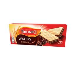 Bolachas waffers, chocolate