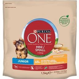 Ração seca de frango cão júnior com menos de 10 kg