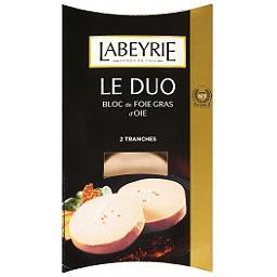 Foie gras de ganso fatias
