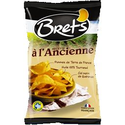 Brets chips batata receita tradicional