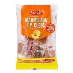 Marmelada em cubos