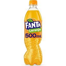 Refrigerante com gás laranja