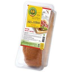 Pão forma fatiado sem glúten