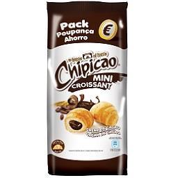 Pack mini croissant com chocolate