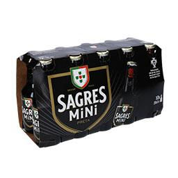 Cerveja mini preta