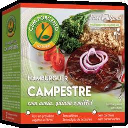 Hambúrguer campestre