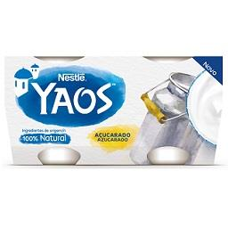 Yaos iogurte açucarado