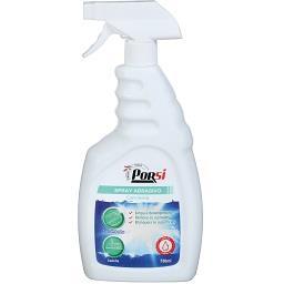 Spray abrasivo com lixívia