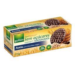 Bolachas Digestivas de Aveia com Chocolate Preto sem...