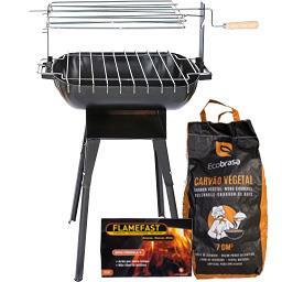 Grelhador c/ Acendalhas + Carvão