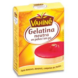Gelatina em pó, 3 saquetas
