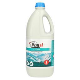 Lixívia com detergente