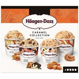 Gelado mini-cups caramel attraction