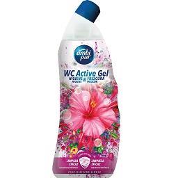Liquido em gel para WC Hibisco Rosa