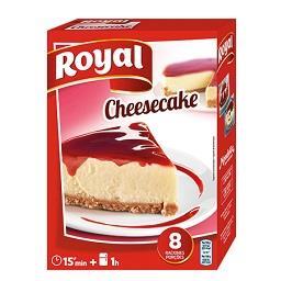 Delícia semi-fria cheesecake