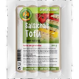 Salsichas de tofu