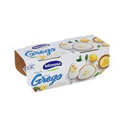 Iogurte grego cheesecake de limão