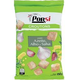 Croutons azeite e alho