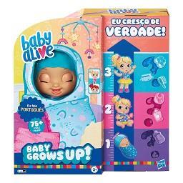 Baby Alive Eu Cresço de Verdade