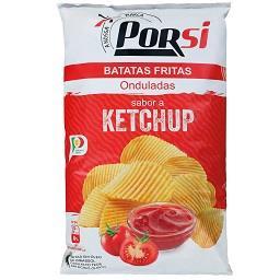 Batatas fritas ketchup