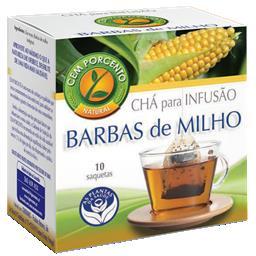 Chá infusão barbas de milho
