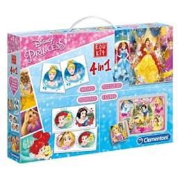 Edukit 4 em 1 princesas
