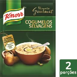 Sopa gourmet, cogumelos