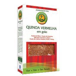Quinoa vermelha em grão (caixa)