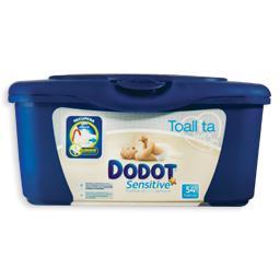Toalhitas para bebé sensitive, caixa, 54 unidades