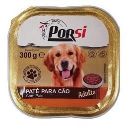 Comida húmida para cão de pato
