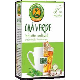 Chá solúvel verde