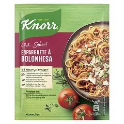 Knorr 1, 2, 3...sabor! - Esparguete à Bolonhesa