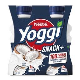 Yoggi snack+ coco 4x160g