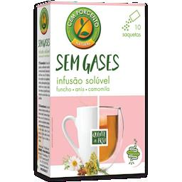Chá solúvel sem gases adulto