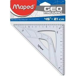 Esquadro Graphic 45º/21 cm