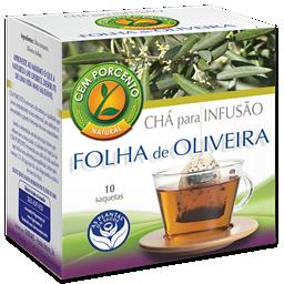 Chá infusão folha de oliveira