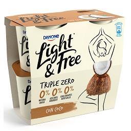 Iogurte light & free coco