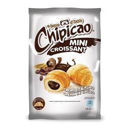 Mini croissants de cacau