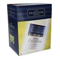Vinho branco região da península de setúbal, bag in ...