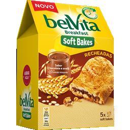 Bolachas soft bakes recheio chocolate