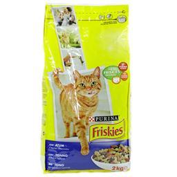 Ração para gato adulto com atum e legumes selecionad...