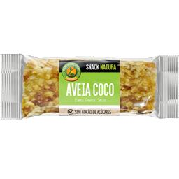 Barra snack natura aveia coco