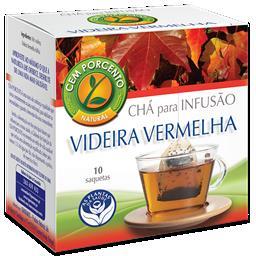 Chá infusão videira vermelha
