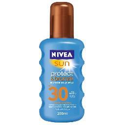 Spray protect&bronze f30