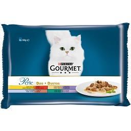 Comida Húmida para Gato Duetos de Carnes Delicadas