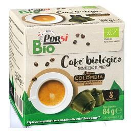 Bio 12 cápsulas de café da Colômbia