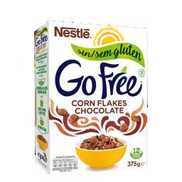 Cereais corn flakes s/ glúten chocolate